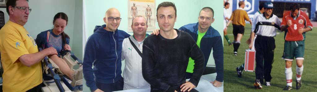екипът на МЦ Д-р Михаил Илиев с Бербатов